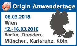 Origin Anwendertage 2018
