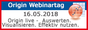 ADDITIVE Origin Webinartag 2018