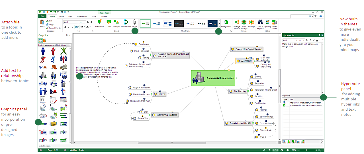 overview of improvements and enhancements in conceptdraw mindmap 9 - Conceptdraw Mind Map