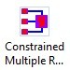 Constrained Multiple Regression App