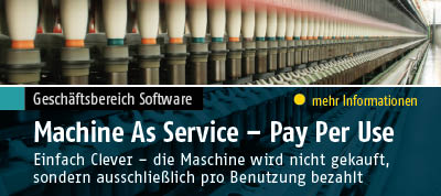 ADDITIVE Solutions: Machine As Service