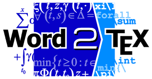 Word2TeX Logo