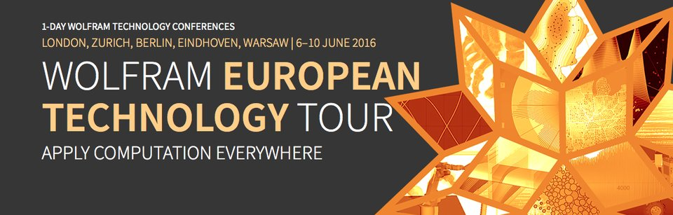 Wolfram European Technology Tour 2016 in Berlin