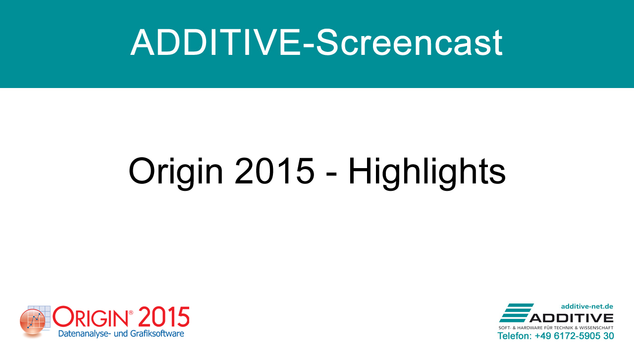 Screencast: Origin 2015 Highlights