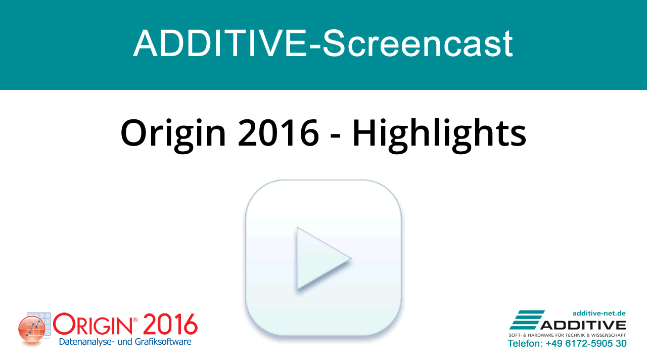 Screencast: Origin 2016 Highlights