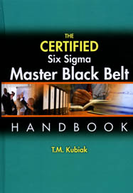 Cover: The Certified Six Sigma Master Black Belt Handbook