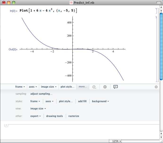 Mathematica Predictive Interface